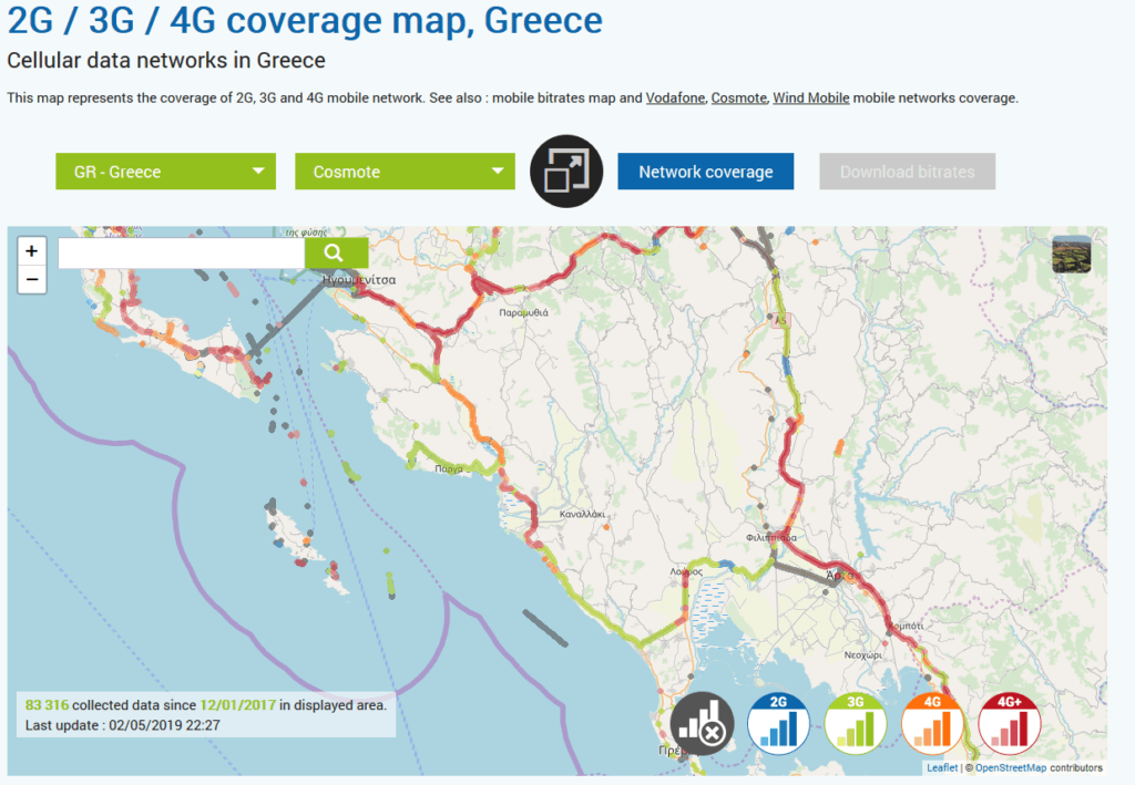 Paxos Mobile Phone Signal – And What About WiFi? – Paxos Travel Guide
