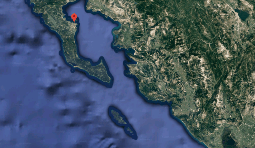 This is where Sette Venti is in relation to Paxos.